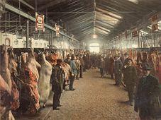 Скотобойня в районе Голешовице, 1905 г. (Фото: Архив Музея столицы Праги)