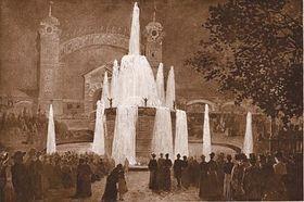 Křižík's fountain