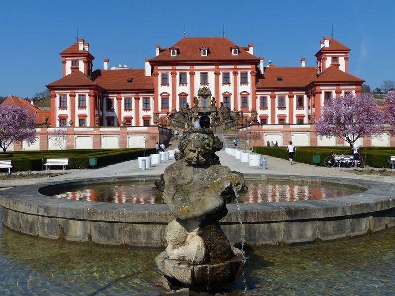 Замок Троя в Праге, фото: Клара Стейскалова