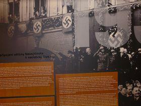 10. Oktober 1938 in Nový Jičín (Foto: Jitka Mládková)