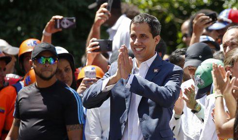 Juan Guaido, photo: ČTK/AP/Ariana Cubillos