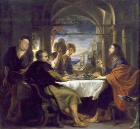 Pedro Pablo Rubens, 'La Cena de Emaús', foto: Ministerio de Cultura