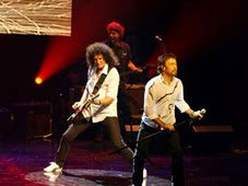 Brian May y Paul Rodgers