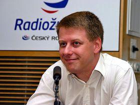 Tomáš Prouza, foto: Anna Duchková, Český rozhlas