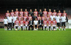 Hráči pražského fotbalového celku FK Viktoria Žižkov, foto: ČTK