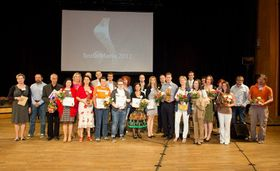SozialMarie Preisverleihung 2012 (Foto: Offizielle Facebook-Seite des Wettbewerbs SozialMarie)