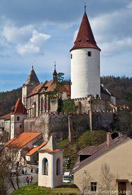 Château fort de Křivoklát, photo: CzechTourism