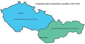 Federación Checo-Eslovaca en 1968