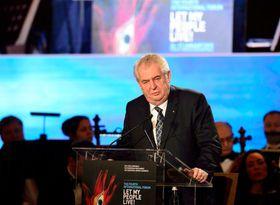 Miloš Zeman, Let My People Live, foto: ČTK