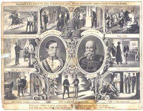 Истории из жизни имп. Франца-Иосифа, литография, 1898 г.