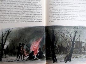 "Foto aus dem Buch ""Marketa Lazarová"" von Vladislav Vančura / Verlag Československý spisovatel"