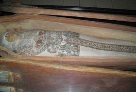 Sarcophagus of Egyptian princess Hereret, photo: Anton Kaimakov