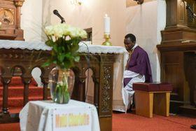Georges Makonzo Mondo, photo: Římskokatolická farnost Kolín