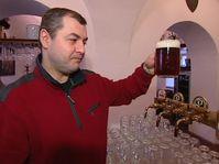 Radovan Koudelka y su especial de castaña, foto: ČT24