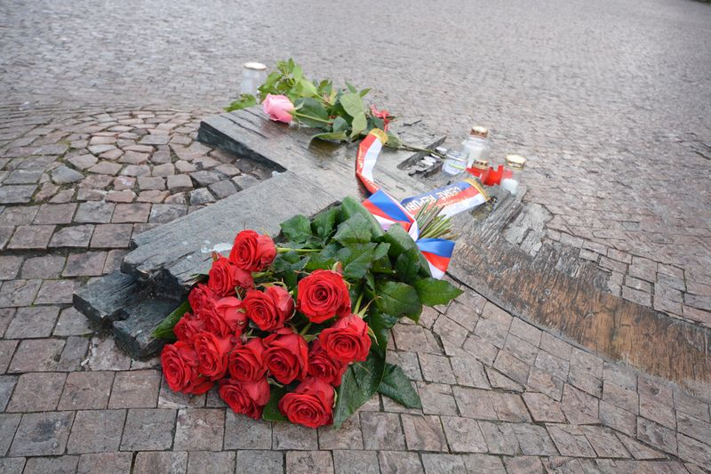 El lugar del hecho de Jan Palach, foto: Eva Turečková
