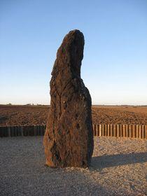 Pastor de Piedra, el menhir cerca del municipio de Klobuky