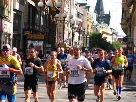 Le 14e Marathon de Prague, photo: Štěpánka Budková