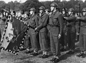 L'armée tchécoslovaque à Cholmondeley