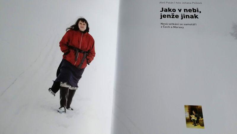 Karin Kocumová, photo repro: Aleš Palán, 'Jako v nebi, jenže jinak' / Prostor