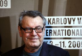 Miloš Forman, photo: ČTK