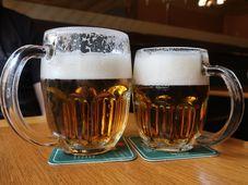 Bier vom Fass - točené pivo (Foto: Lenka Žižková)