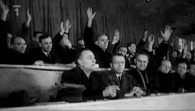 Toman is seated in the second row, second from left, photo: Czech TV