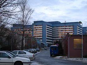 El hospital Motol, en Praga, foto: Kristýna Maková