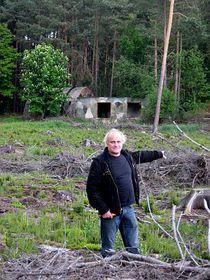 Michael Kocáb at a former Soviet base in Bělá pod Bezdězem, photo: Jan Richter