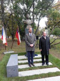 El alcalde de Praga 6, Ondřej Kolář, y el embajador de Chile, Rodrigo Gaete Vidal, foto: Dominika Bernáthová