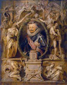 Charles-Bonaventure de Longueval par Peter Paul Rubens / Hermitage Museum