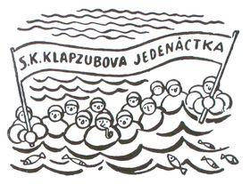 Фото: repro Eduard Bass, 'Klapzubova jedenáctka' / SNDK