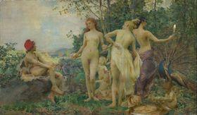 Войтех Гинайс, «Суд Париса», Национальная галерея в Праге