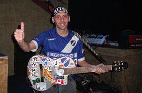 Leo de la banda Che Sudaka, foto: Dominika Bernáthová