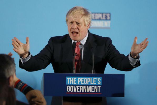 Boris Johnson, foto: ČTK/AP/Frank Augstein