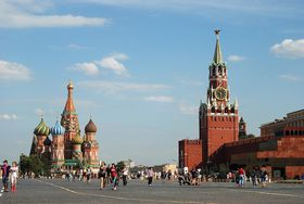 Red Square in Moscow, photo: Alvesgaspar CC BY-SA 3.0