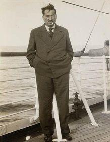 Egon Erwin Kisch, foto: Sam Hood, Public Domain