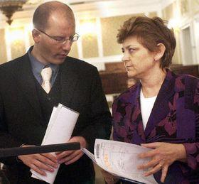 Министр финанцов Богуслав Соботка и министр здравоохранения Мария Соучкова (Фото: ЧТК)