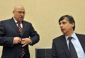 Martin Barták, Jan Fischer (derecha), foto: ČTK
