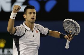 Novak Djokovic, photo: CTK