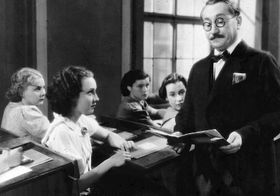 Lída Baarová y Jaroslav Marvan en la película 'La Costurera' ('Švadlenka') (1936), foto: ČT