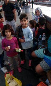 Иллюстративное фото: Официальный фейсбук «Хочу помочь беженцам на Главном вокзале»
