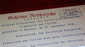 Münchner Abkommen (Foto: Archiv Radio Prag)