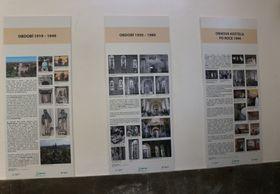 Exposición de los 100 aňos de la iglesia, foto: Dominika Bernáthová