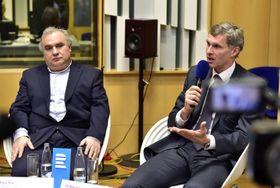 Милош Бок и Иржи Кейвал, фото: ЧТК