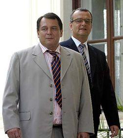 Jiří Paroubek aMiroslav Kalousek, foto: ČTK