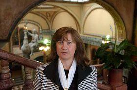 Damgmar Havlova in the Lucerna Palace, photo: CTK