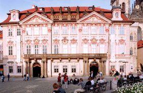 Palacio de Kinský en Praga, foto: CTK