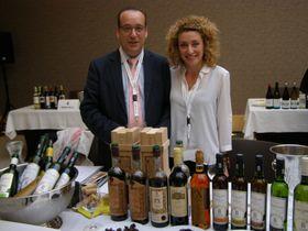 Dos de los expositores andaluces del evento, foto: Borja de Jorge