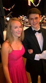 15летняя Катержина со своим молодым человеком и партнером по танцам, фото: Архив Катержины Прайслеровой