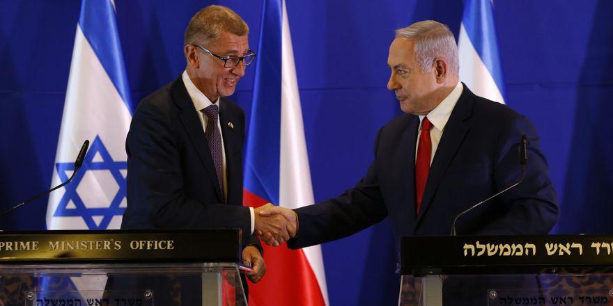 Андрей Бабиш и Биньямин Нетаньяху, фото: ЧТК/AP/Ariel Schalit